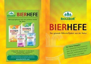 BIOLABOR BIERHEFE Broschüre