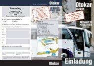 Download: Einladung - bei OTOKAR