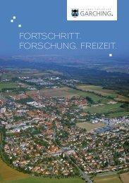 Imagebroschüre - Stadt Garching b. München