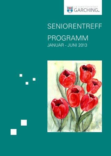 SENIORENTREFF PROGRAMM - Stadt Garching b. München