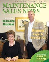 Kinney Paper & Chemical Co. ..................................6 - Maintenance ...