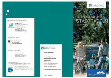 Flyer zum Stadtradeln 2012