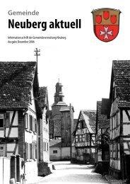 Neuberg aktuell - Gemeinde Neuberg