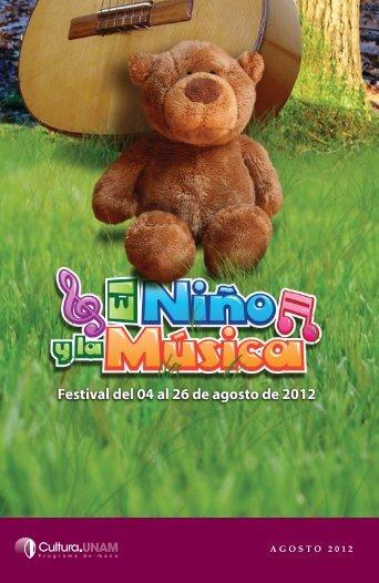 agosto 2012 - Música UNAM - Universidad Nacional Autónoma de ...