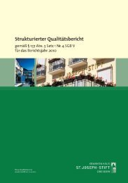 Qualitätsbericht 2010 - St. Joseph-Stift Dresden
