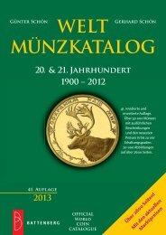 WELTMÜNZKATALOG 20. & 21. Jahrhundert 1900 - Gietl Verlag