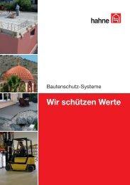 Produktübersicht - Heinrich Hahne GmbH & Co. KG