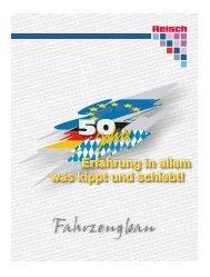 Firmenchronik als PDF-Download - Martin Reisch GmbH