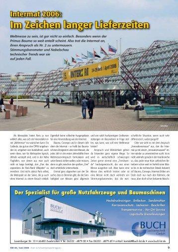 Im Zeichen langer Lieferzeiten - KM-Verlags GmbH