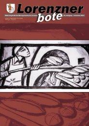 Lorenzner Bote - Ausgabe November 2004 (2,04MB) (0
