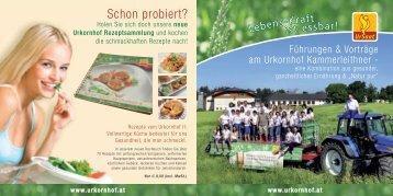 weitere Infos - Urkornhof