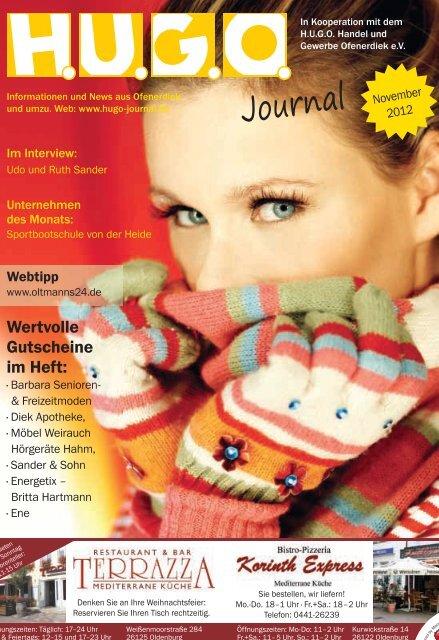 November 2012 - HUGO-Journal