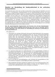 Manifest zur Abschaffung der Sandstrahltechnik