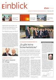 """""""Es gibt keine Sicherheitslücke"""" - E.ON Kernkraft GmbH"""