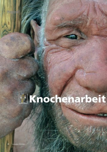 Knochenarbeit - Carl Zeiss
