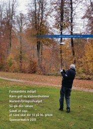 December 2011 (PDF) - Gyldensteen Golf Club