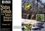 Status and Trends - USGS National Wetlands Research Center