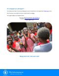 Sult på skemaet - WFP World Food Programme - Page 5