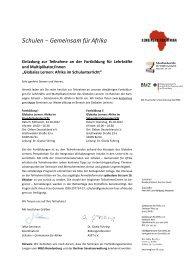 Afrika im Schulunterricht