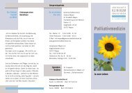 Palliativmedizin - Gemeinschaftsklinikum Koblenz-Mayen