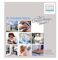 St. Elisabeth Mayen - Gemeinschaftsklinikum Koblenz-Mayen