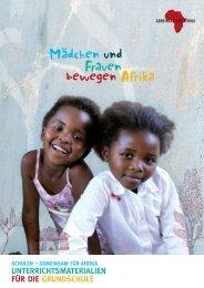 arBeitSBlatt 1 mÄdchen und frauen in afrika - Gemeinsam