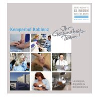 Kemperhof Koblenz - Gemeinschaftsklinikum Koblenz-Mayen