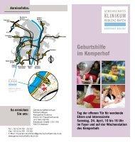 Geburtshilfe im Kemperhof - Gemeinschaftsklinikum Koblenz-Mayen