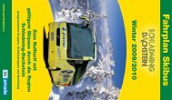 Fahrplan Skibus - Schladming Dachstein