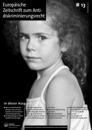 Europäische Zeitschrift zum Anti - European Network of Legal ...