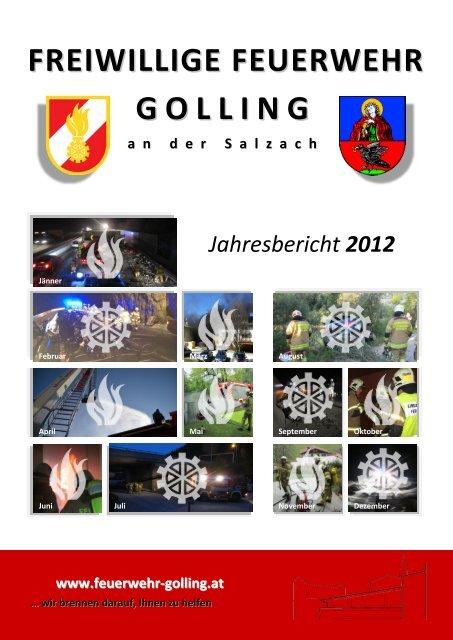 Download Jahresbericht 2012 - Freiwillige Feuerwehr Golling