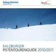 salzburger pistentourenguide 2010/2011 - Koch alpin GmbH