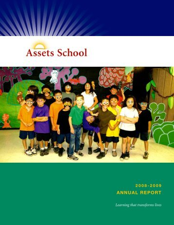 ANNUAL REPORT - Assets School