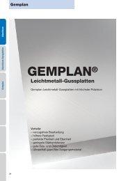 GEMPLAN® - Gemmel Metalle