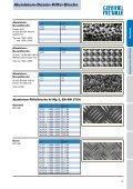 Aluminium-Dessin-Riffel-Bleche - Gemmel Metalle - Page 2