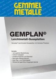 Gemplan-Flyer - Gemmel Metalle