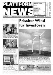 Plattform News 2002-03 - Plage