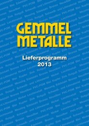 downloaden - Gemmel Metalle