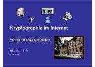 Kryptographie im Internet