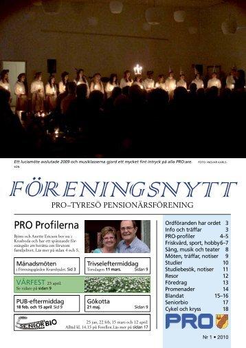 PRO Profilerna
