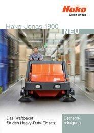 NEU Hako-Jonas 1900 - Stangl Reinigungstechnik GmbH