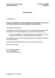 Drs. 5/2409 - Der Landtag von Sachsen-Anhalt