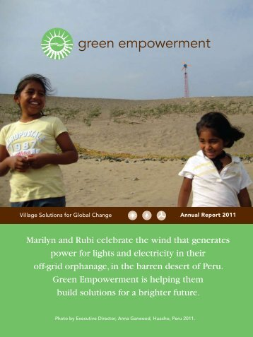 2011 Annual Report - Green Empowerment