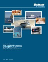 Specification Sheets for: Direct Expansion Air ... - Dometic