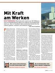 Mit Kraft am Werken - bau docu Österreich