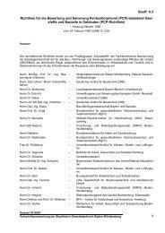 Richtlinie für die Bewertung und Sanierung Pentachlorphenol \(PCP ...