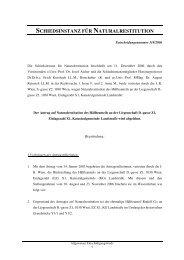 schiedsinstanz für naturalrestitution - Nationalfonds der Republik ...