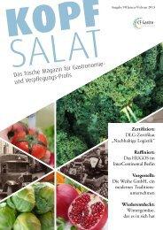KOPF SALAT - Ausgabe 9 - Weihe