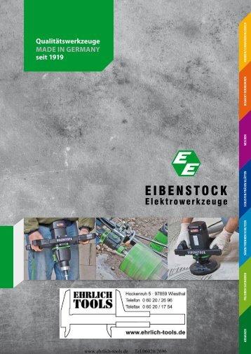 Elektrowerkzeuge Eibenstock