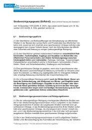 Straßenreinigungsgesetz (StrReinG) - BSR